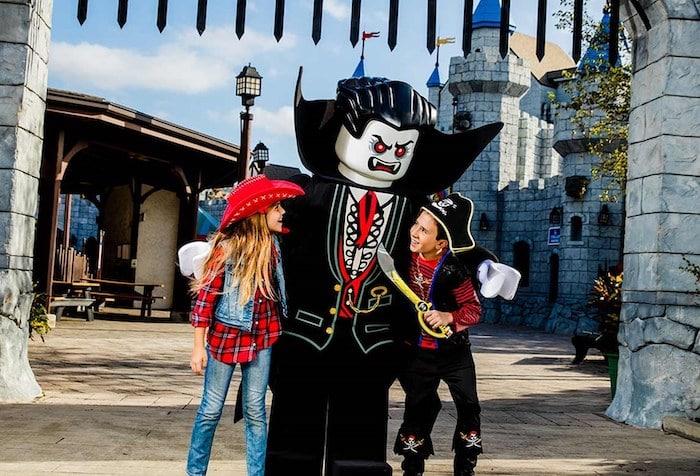 Halloween con niños en Legoland