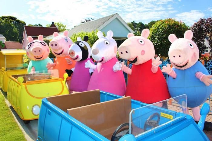 parque temático Peppa Pig World en Inglaterra