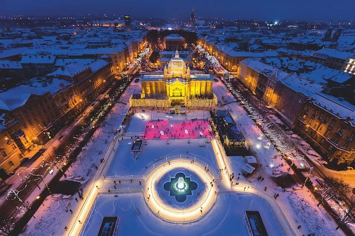 Visitar Zagreb, Croacia en Navidad