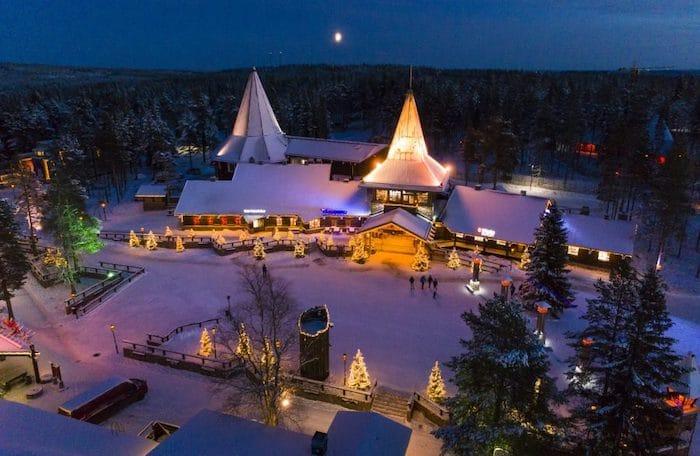 Santa Claus Village en Rovaniemi, Finlandia