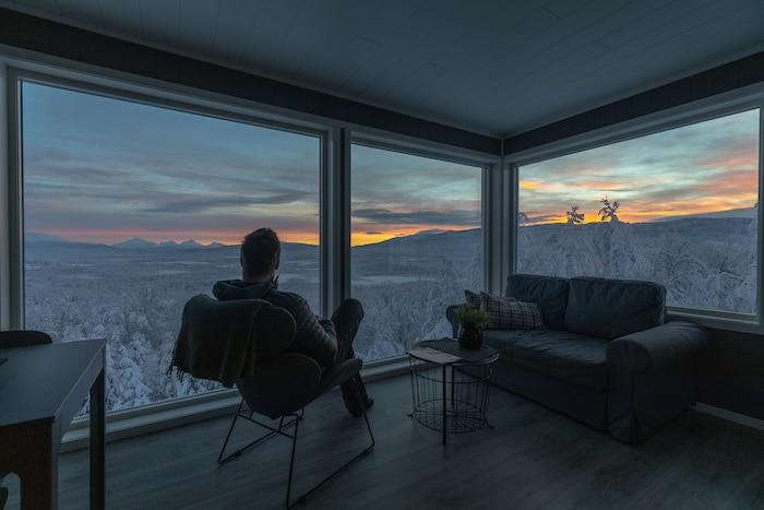 alojamiento familiar al norte de Noruega