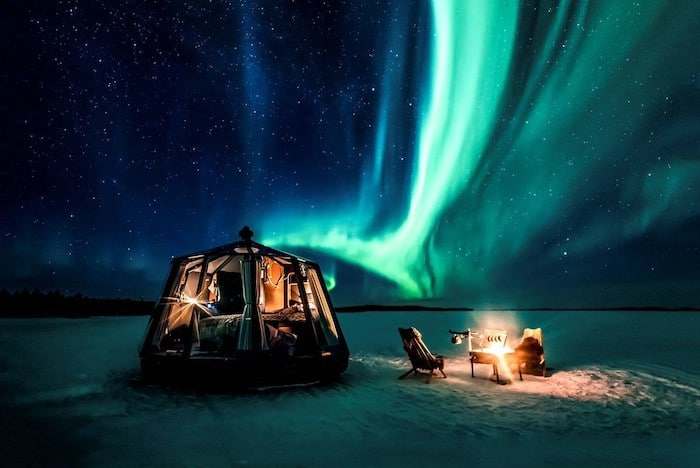 Aurora Borealis Observatory en la Isla de Senja
