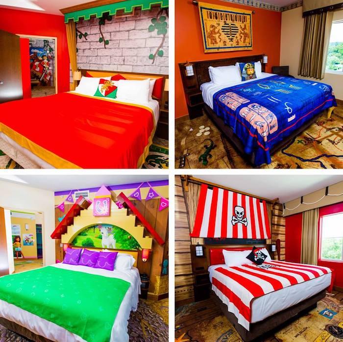 habitaciones temáticas hotel Legoland