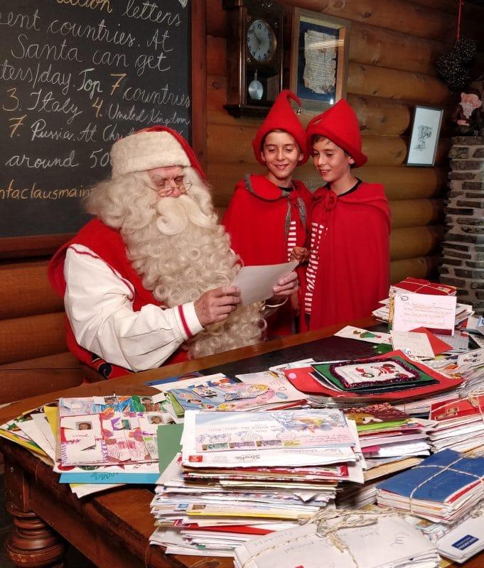 Navidad con niños en Rovaniemi, Finlandia