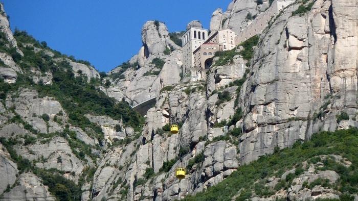 teleférico para subir a Montserrat