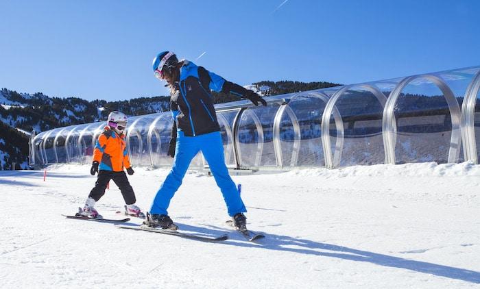 Viajar con niños a Andorra en invierno