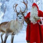 Viajar a Rovaniemi con niños en Navidad para ver a Papá Noel
