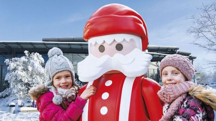Navidades divertidas con niños en el parque Playmobil FunPark