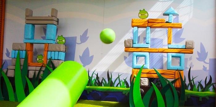 atracciones infantiles parque Angry Birds Canarias