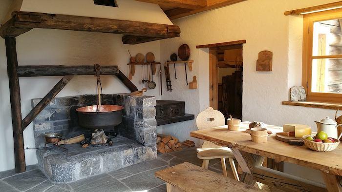 casa de Heidi en Suiza