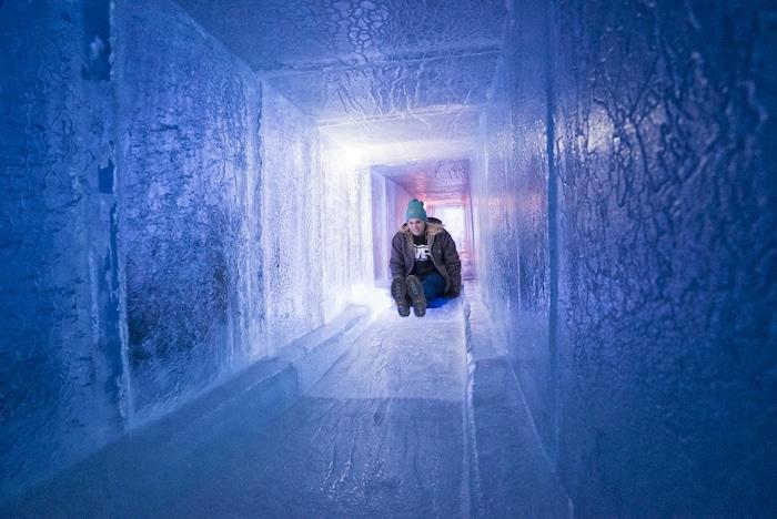 Castillos de hielo Ice Castles en EEUU