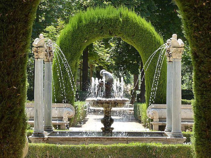 jardines de Aranjuez con niños