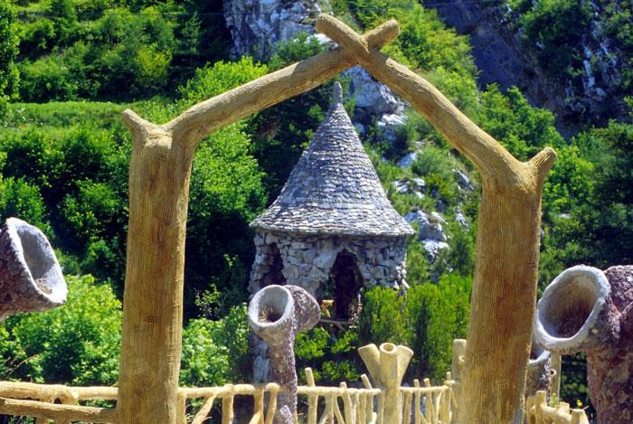 Jardines Artigas de Gaudí con niños