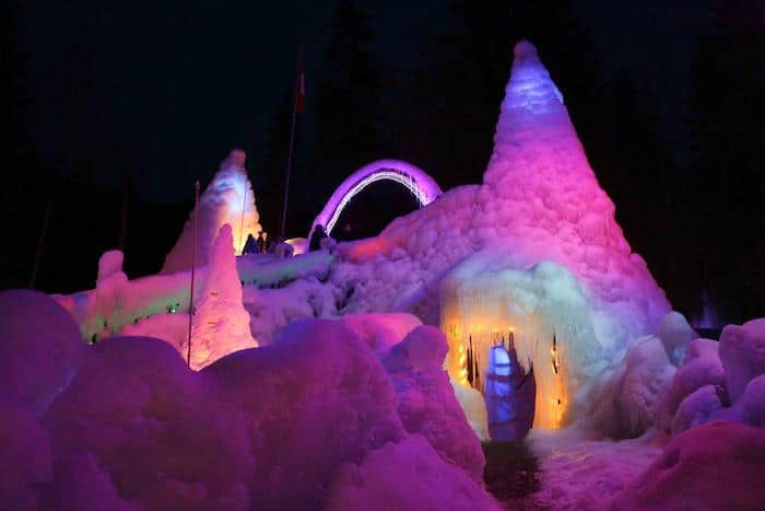 palacios de hielo de Schwarzsee, Suiza