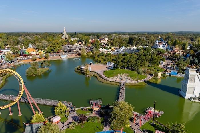 Parque temático Parc Astérix en Francia