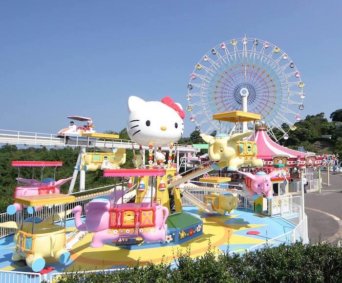 Parque de atracciones Harmonyland en Japón