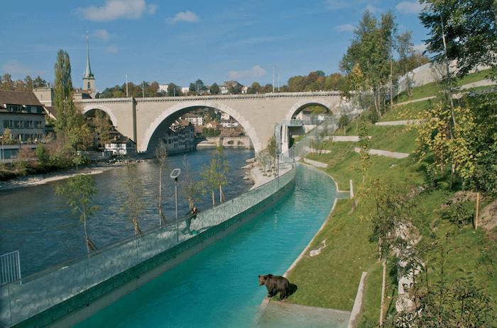 Parque de los Osos Bären Park de Berna, Suiza