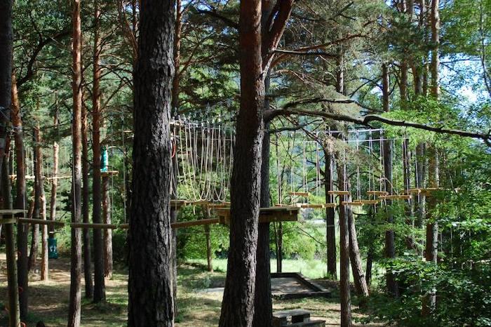 parque multiaventura Biescas Aventura en Huesca