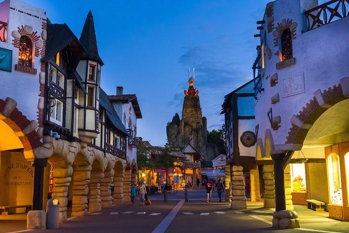 Parque temático de Astérix y Obelix en Francia
