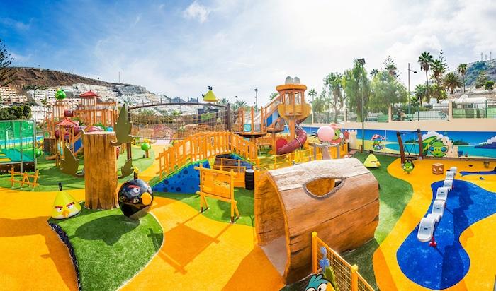 Parque temático Angry Birds en Canarias