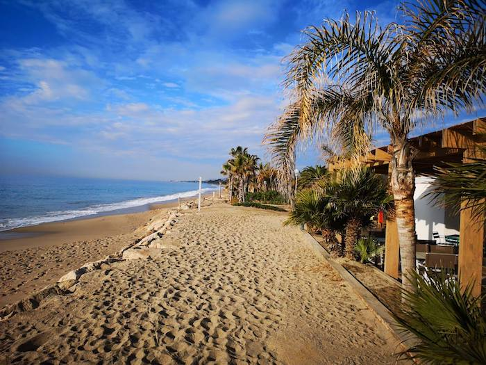 playa camping familiar Tarragona