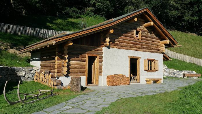 pueblo de Heidi Heididorf en Suiza