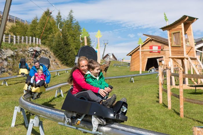 tobogán de montaña Katschi's Goldfahrt en Austria