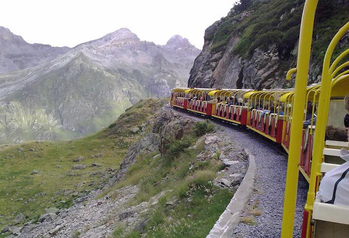 tren Artouste en los Pirineos