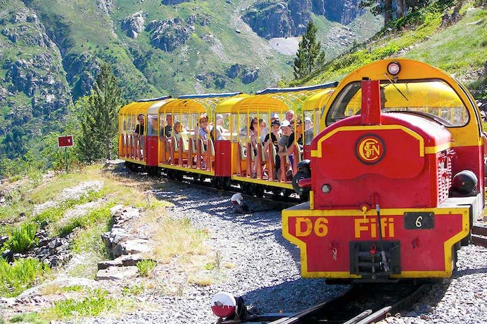 Tren de Artouste, en el lado francés del Pirineo