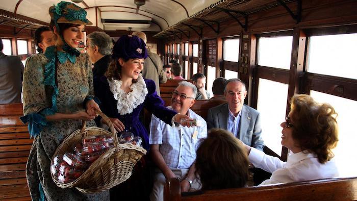 tren turístico Tren de la Fresa Aranjuez Madrid