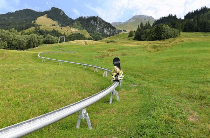 tobogán de montaña en Berna, Suiza