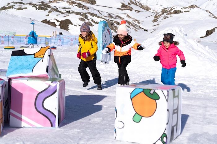 Estación de esquí Formigal-Panticosa con niños