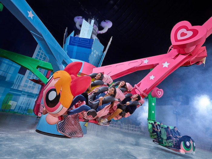 Zona temática Cartoon Network de IMG Worlds of Adventure