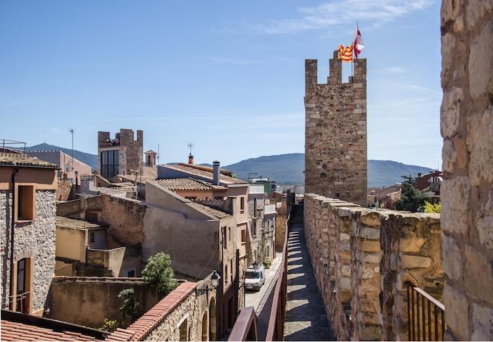 Montblanc en Tarragona con niños