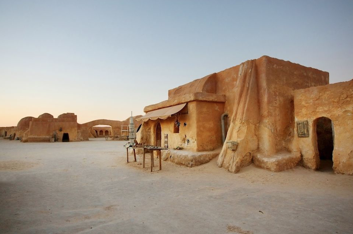 Ruta de Star Wars en Túnez con niños