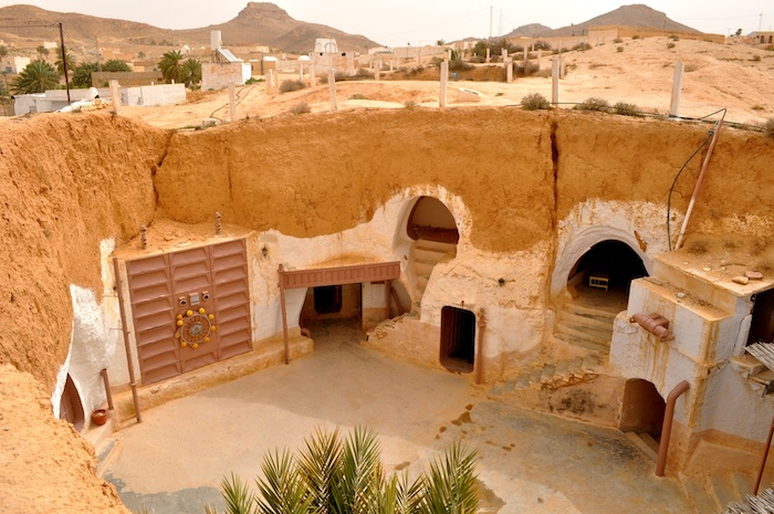 Hotel Sidi Driss de Star Wars en Túnez