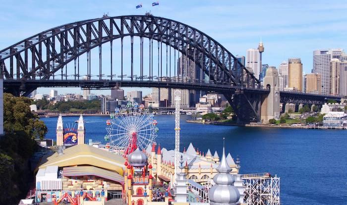 parque de atracciones Luna Park en Sydney