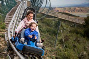 Parque de atracciones Sendaviva en Navarra con niños