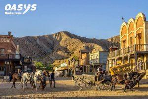 Parque temático Oasys MiniHollywood en el desierto de Almería