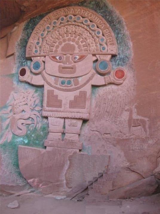 Piedra del Peruano en la Sierra de Albarracín