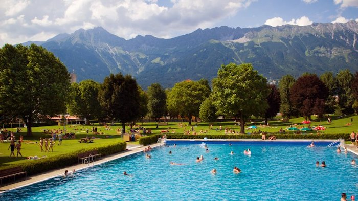 piscinas al aire libre en Innsbruck, Austria