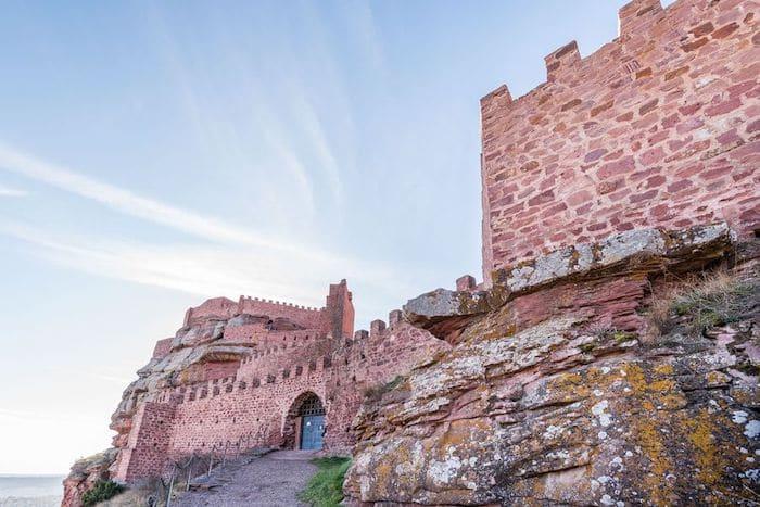 ruta de los castillos en la Sierra de Albarracín con niños