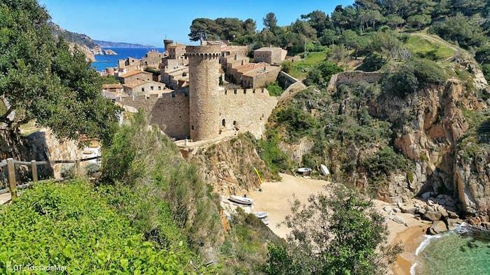 Tossa de Mar en Girona con niños