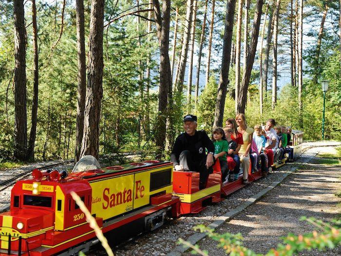 Tren miniatura Mini Dampf en Innsbruck