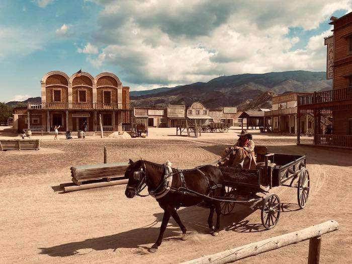 zona Poblado del Oeste en Almería