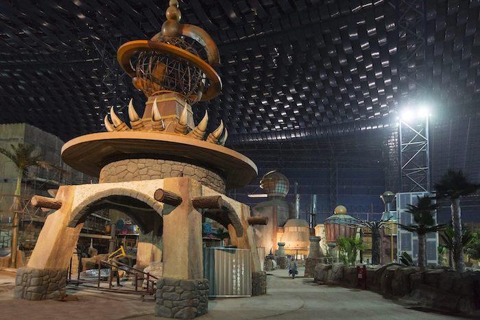 Zona temática dinosaurios de IMG Worlds of Adventure en Dubái