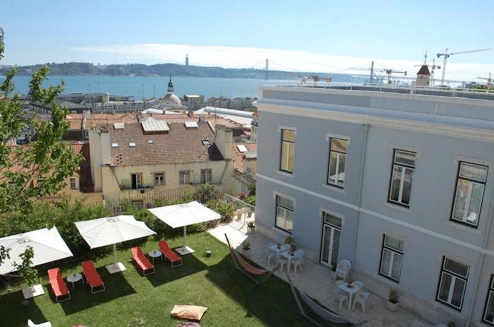 Hostal con habitaciones familiares en Lisboa