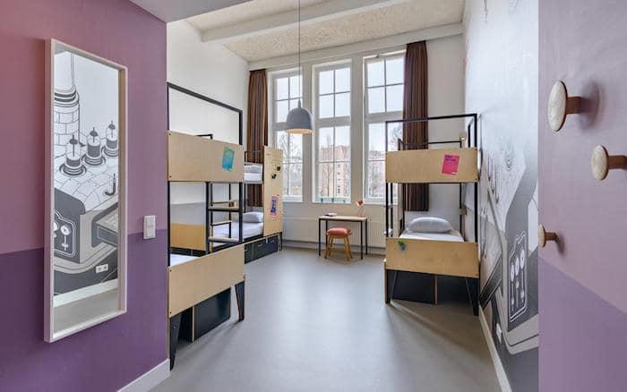 Hostal para familias en Ámsterdam
