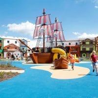 Hotel Pirata de Legoland en Alemania
