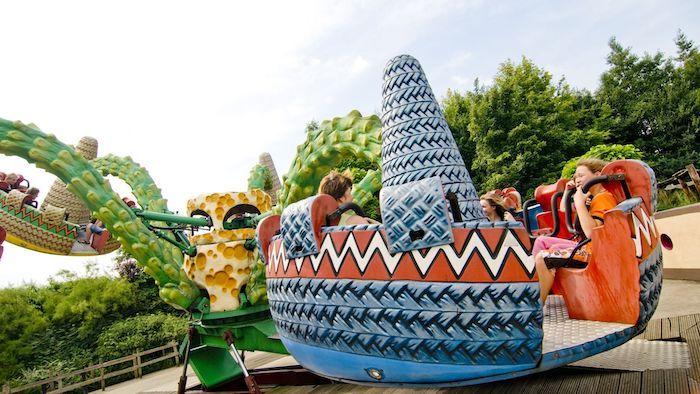 Parque de atracciones Walibi Holanda con niños